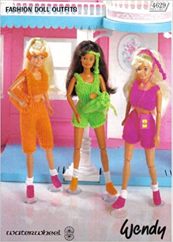 Sindy Fashion Doll Clothes Keep Fit Outfit Wendy Knitting Pattern