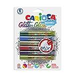 CA-RIO-CA Carioca Glitter Glue Pens (Set of 6 Mystery Colors)