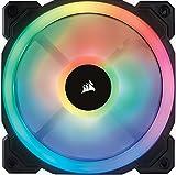 Corsair LL Series LL140 RGB 140mm Dual Light Loop RGB LED PWM Fan Single Pack Cooling CO-9050073-WW