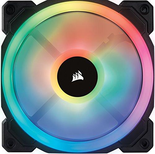 Corsair LL Series LL140 RGB 140mm Dual Light Loop RGB LED PWM Fan Single Pack Cooling CO-9050073-WW Photo #6