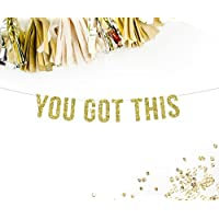 You Got This Party Banner | going away garland | motivational | decor | college bunting | promotion | celebration |