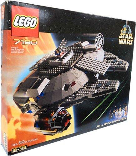 لگوی ملنیوم فالکون از سری لگوهای جنگ ستارگان محصول LEGO. |