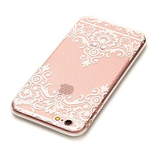 Custodia iPhone 6 Plus / 6S Plus , LH TPU Trasparente Silicone Cristallo Morbido Case Cover Custodie per Apple iPhone 6 Plus / 6S Plus 5.5
