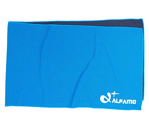 Pva Cooling Towel - Aqua Blue Cooling Towel for Instant Relief - 33