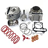 YunShuo Performance Big Bore Cylinder Kit & Head 170cc 61mm GY6 125cc 150cc Scooter