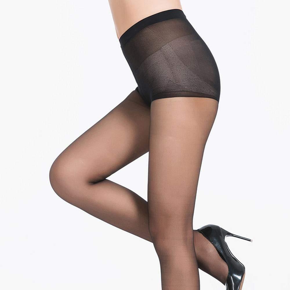 Black3 pack Pantyhose Small T File AntiOff Socks (3 Pack) Women's Summer UltraThin NonSlip Reinforcement Foot Stockings,Fully Breathable