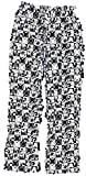 Disney Womens Fashion Pajama Pants Mickey Mouse Checkers Heads (Large 11/13)