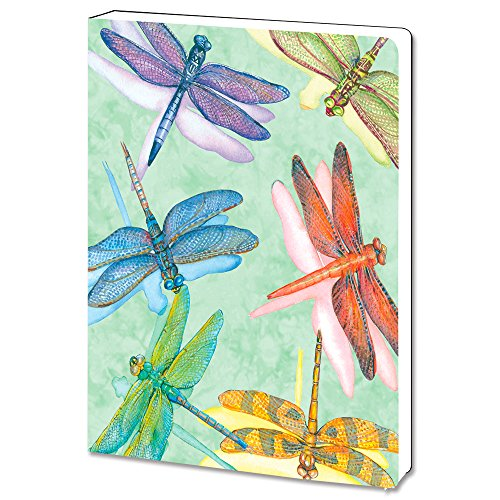- Tree-Free Greetings, Soft Cover Journal Notebook, 160 Lined Pages, 5.5 x 7.5 x 0.75 Inches, Dragonflies  (JR72016)