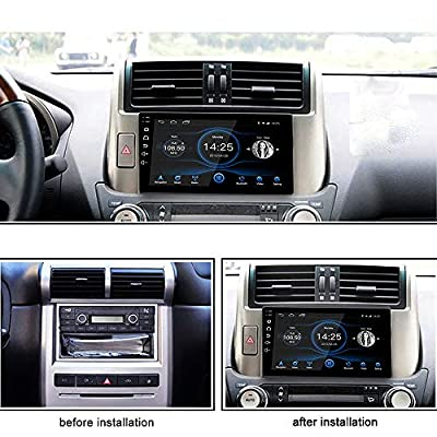 LEXXSON 10 inch Android 10.1 Car Radio 1024x600 GPS Navigation Bluetooth USB Player 2G DDR3 + 16G NAND Memory Flash: GPS & Navigation