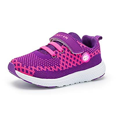 EIGHT KM Girls & Boys Sneakers Light up Shoes (5 Colors of Choice)