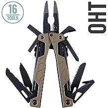 Leatherman - OHT Multi-Tool, Coyote Tan with Molle-USA Brown Sheath (FFP)