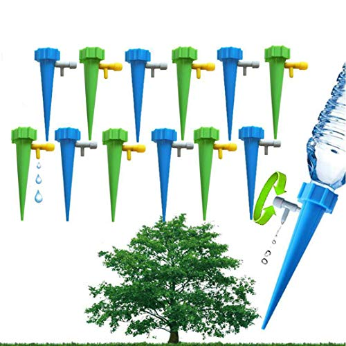 Plant Waterer Spikes Devices System-Automatic Drip Irrigation Watering Care Your Flower Travel Forgetting Potted Plants