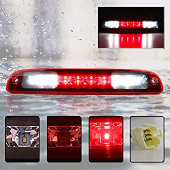Chrome Housing Clear Len  Third Brake//Reverse LED Light For Dodge 97-10 Dakota
