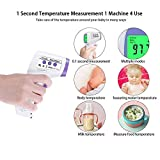 No-Touch Forehead Thermometer, Infrared Adult