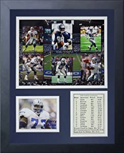 Legends Never Die Dallas Cowboys 1995 Super Bowl Champions Framed Photo Collage, 11x14-Inch