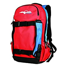 HMK HM4PACK2RBL Red/Blue Backcountry Backpack, 2 Pack
