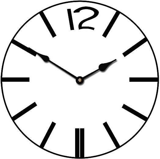 Bold Strokes Wall Clock