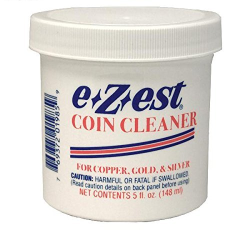 EZEST Coin Cleaner 5oz. jar (Qty = 1 Jar) by Collector's Supply co