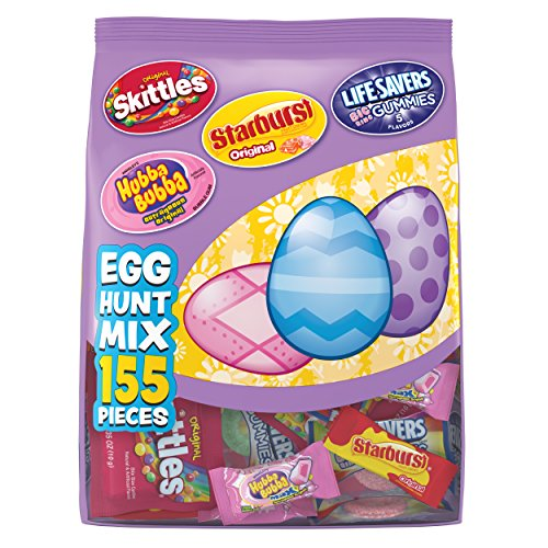 Skittles Original, Starburst Original, Lifesavers Gummies, and Hubba Bubba Candy Assorted Easter...