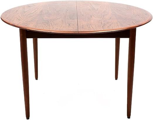 n.d. Mesa de Comedor Redonda Extensible años 60 Color marrón de ...