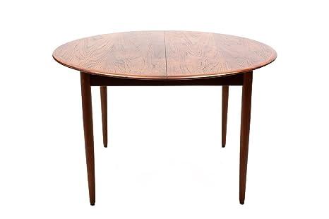 Tavolo Da Pranzo Rotondo : Tavolo da pranzo rotondo allungabile anni colore marrone in