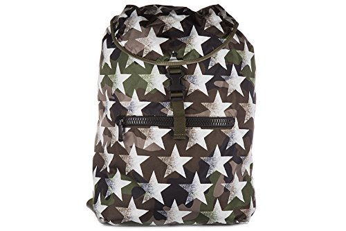 Price comparison product image Valentino men's Nylon rucksack backpack travel camustars green