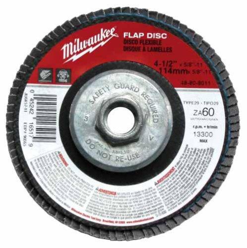MILWAUKEE FLAP DISC 7 X 5/8-11 60 GRIT Part # 48-80-8041