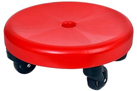 GoGoSeat – Asiento en las ruedas sentado Dolly perfecto para un movimiento sin costuras mientras limpias