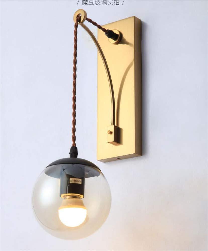 Wandleuchte wandlampe Geführte   Nachttischlampe Metallwandlampe   Schlafzimmer Moderne Kreative Europäische Wohnzimmerwandlampe