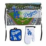 MLB Los Angeles Dodgers Premium Barbeque Tailgate Set