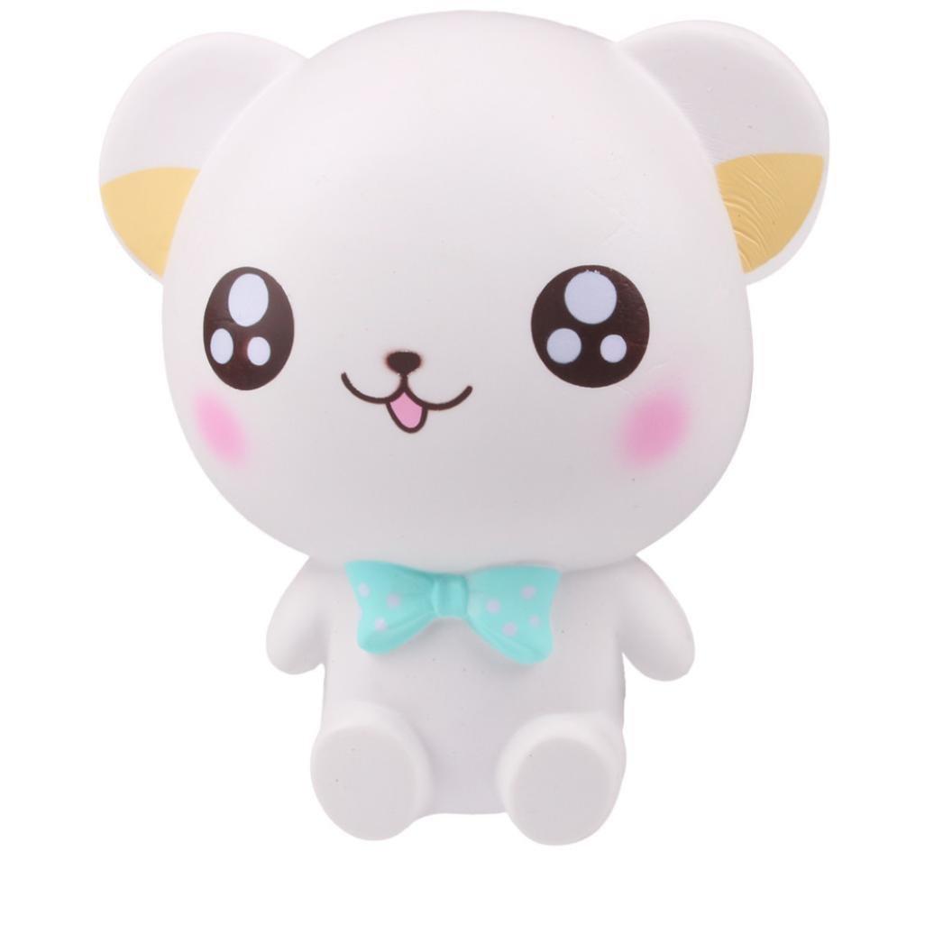 CSSD Squishy {Hamster/Panda Burger/Strawberry Mouse/Jumbo Strawberry Cake/Cartoon Big Eye Bear/Moon Unicorn/Cute Panda Cake} {Slow Rising} {Stress Reliever} Fun Squeezable Healing Gifts To (G)