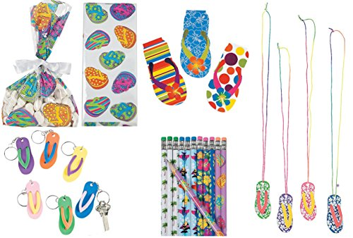 Hawaiian Notepads Keychains Tropical Necklaces