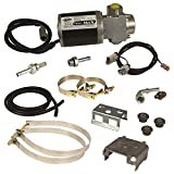 BD Diesel 1050310D Flow-MaX Fuel Lift Pump Incl. Lift Pump V3/Mounting Bracket/Anti-Vibration Mount/Clamps/Adapter/Fuel Fitting/Box Frame Bracket/Mount Strap/Hardware Flow-MaX Fuel Lift Pump