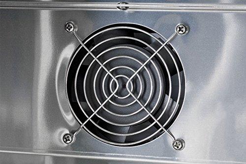 Mini Kühlschrank Edelstahl : Minikühlschrank edelstahl led gckw amazon elektro