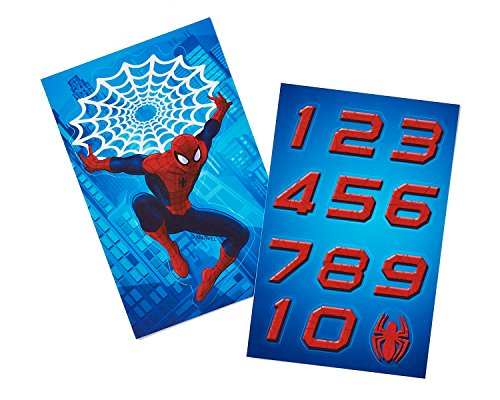 American Greetings Spider Man T-Shirt Sticker Pack -