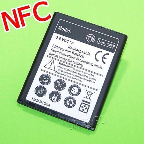New High Power 4000mAh Extended Slim NFC Battery For Straight Talk Samsung Galaxy S III i9300 SCH-S960L Smartphone - FAST (Galaxy S3 Straight Talk New)