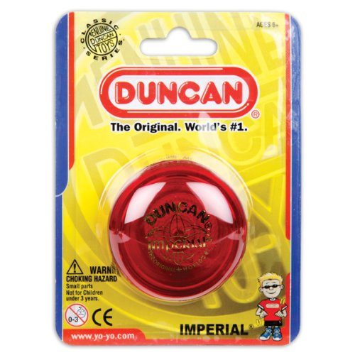 Duncan Imperial Yo Yo , Assorted colors, Pack of - Yo Duncan Yo Classic