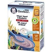 Gerber Gerber Wheat W/Yogurt & Bluebe