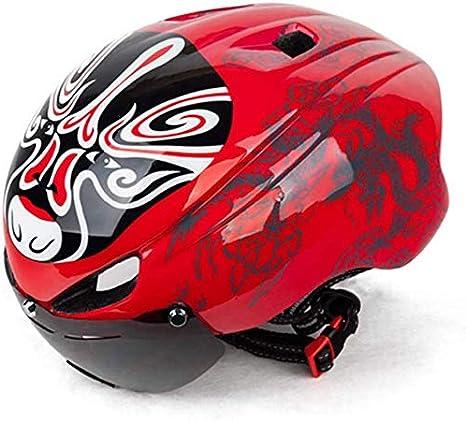 Viento de China de bicicletas ópera de Pekín máscara en bicicleta ...
