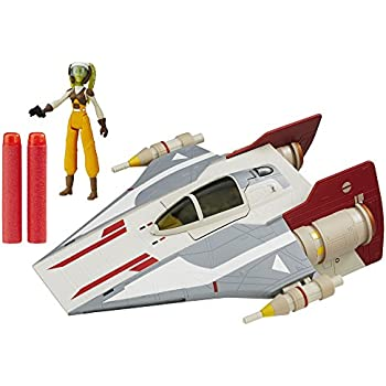 star wars starfighter vehicle v wing fighter toys games. Black Bedroom Furniture Sets. Home Design Ideas