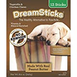 Cheap Dreambone Dreamsticks Real Peanut Butter and Chicken, 12 Sticks/Pack