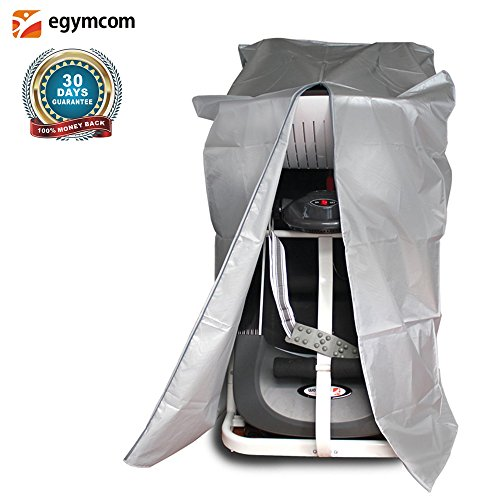egymcom Treadmill Cover, Sports Running Machine Protective Folding Cover Dustproof Waterproof Indoor/Outdoor Cover(Silver Color) by egymcom