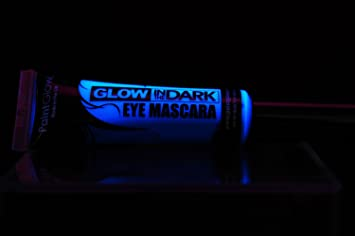 PaintGlow Glow in the Dark Eye Mascara (Glow Blue)