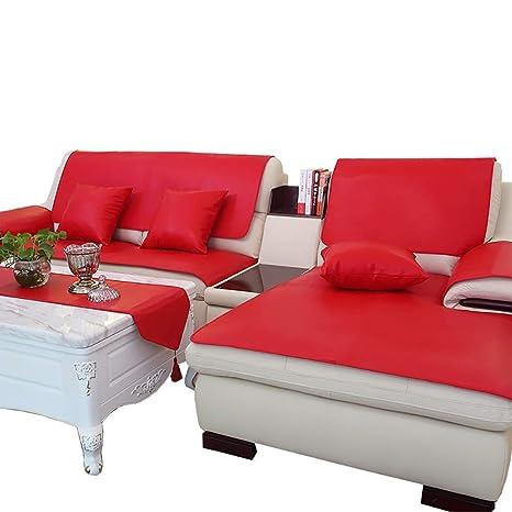 ACZZ Funda de sofá sin lino 1 pieza, funda de colchón ...