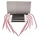 Original style heating elements complete set of 6 element heaters most common heaters that use this are the Edenpure 1000XL and Gen3 1000 (1500 Watt). Models listed below.