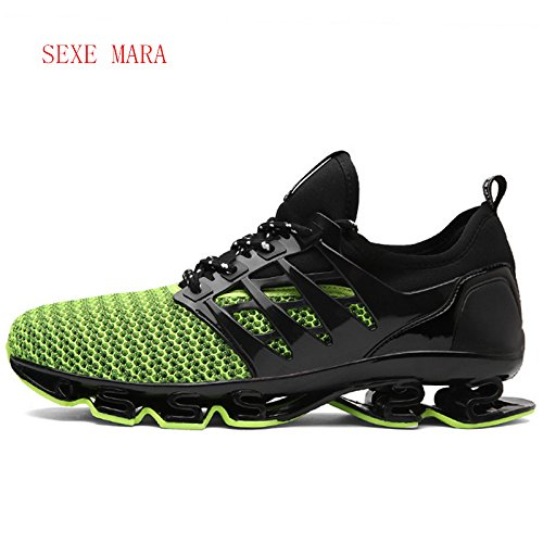 Amazon.com: NEW Running shoes Sneakers Men and Women Outdoor Sports Shoes woman Jogging Breathable Anti-skid Cushioning Athletic female,green,8: Sports & ...