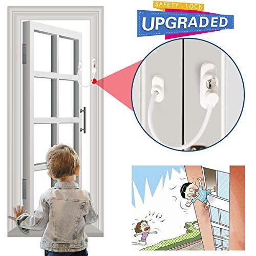 Cierre de seguridad para puerta corredera de seguridad para bebé, cerradura de puerta corredera para puerta, cerraduras de...