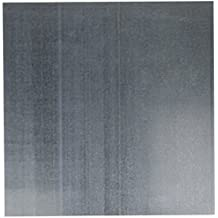 M-D Hobby & Craft 57355 Galvanized Steel Sheet, 12 by 12-Inch, Silver