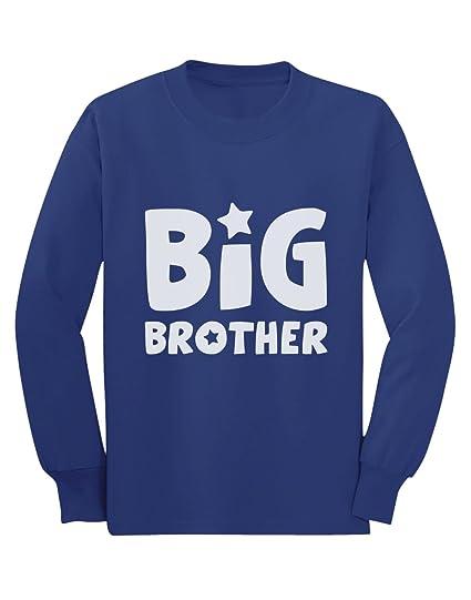 Camiseta de Manga Larga para niños - Big Brother cumpleaños para Hermano Mayor