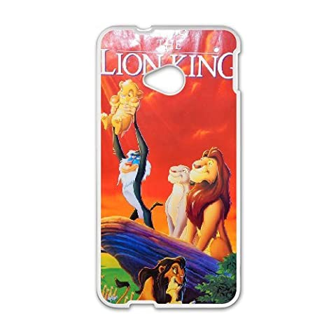 HTC One M7 Phone Case The Lion King Q22Q389104 (Lion King Htc One M7 Case)